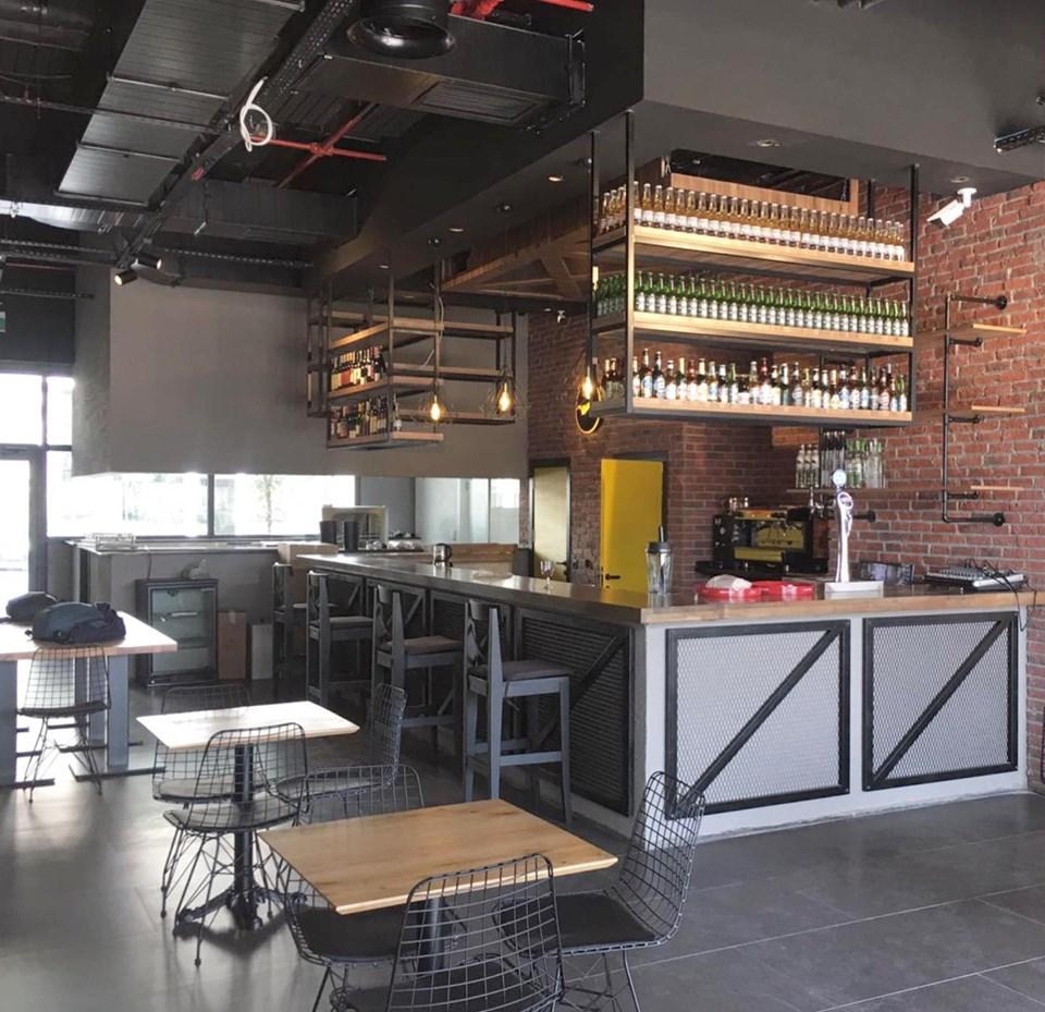Mahall Ankara'da Zepplin Pub'ın Mekanik Tesisat Projesi Tamamlandı