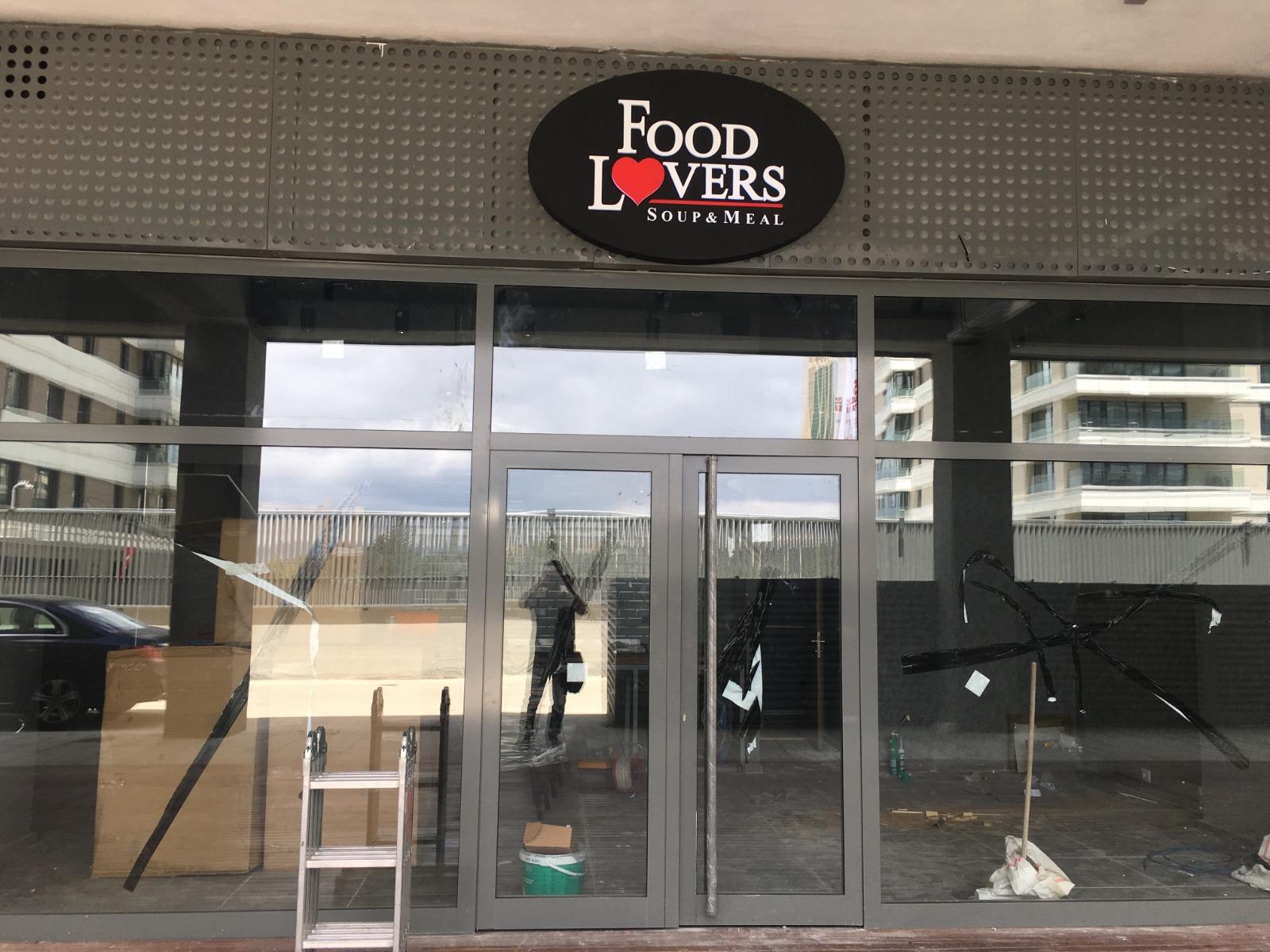Mahall Ankara'da Food Lovers'ın Mekanik Tesisat Projesi Tamamlandı