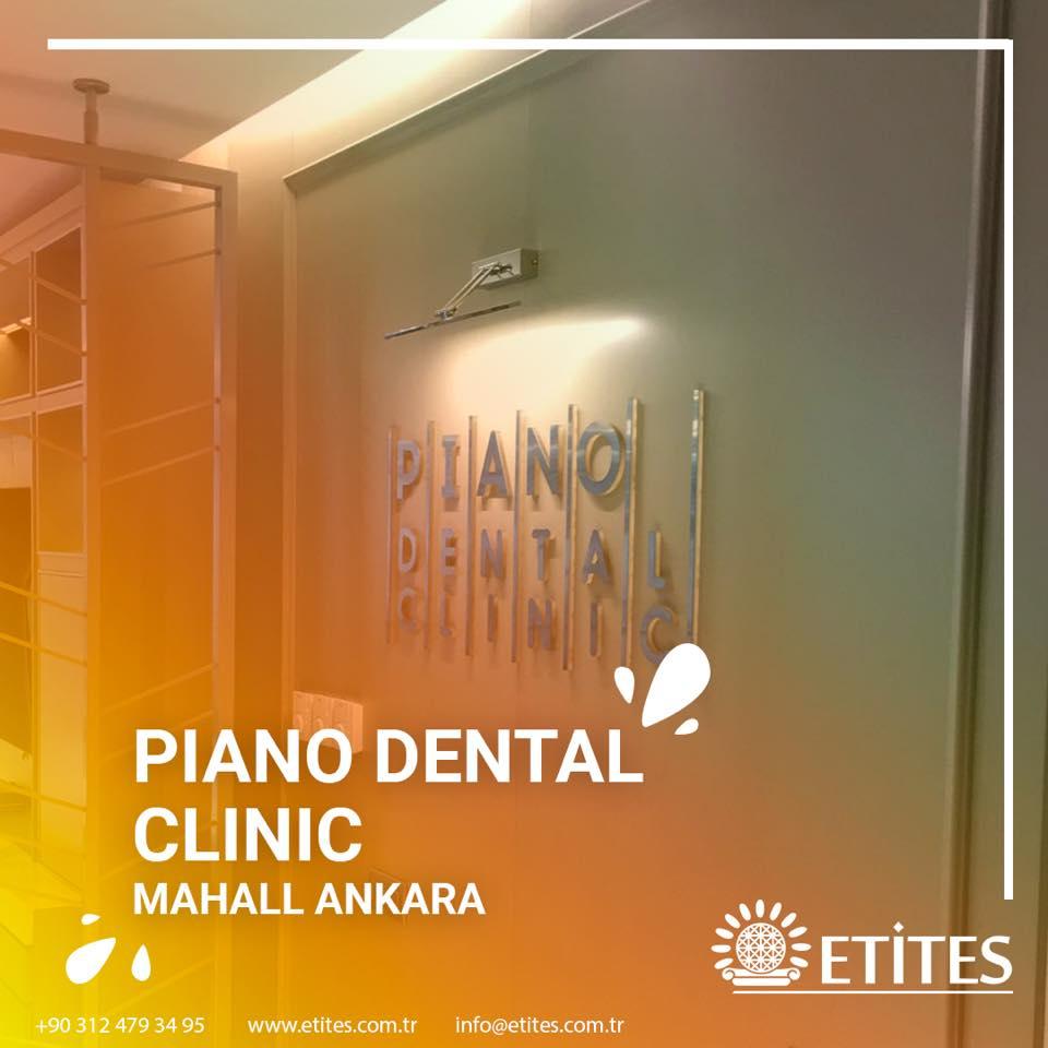 Piano Dental Clinic Mekanik Tesisat Projesi Tamamlandı