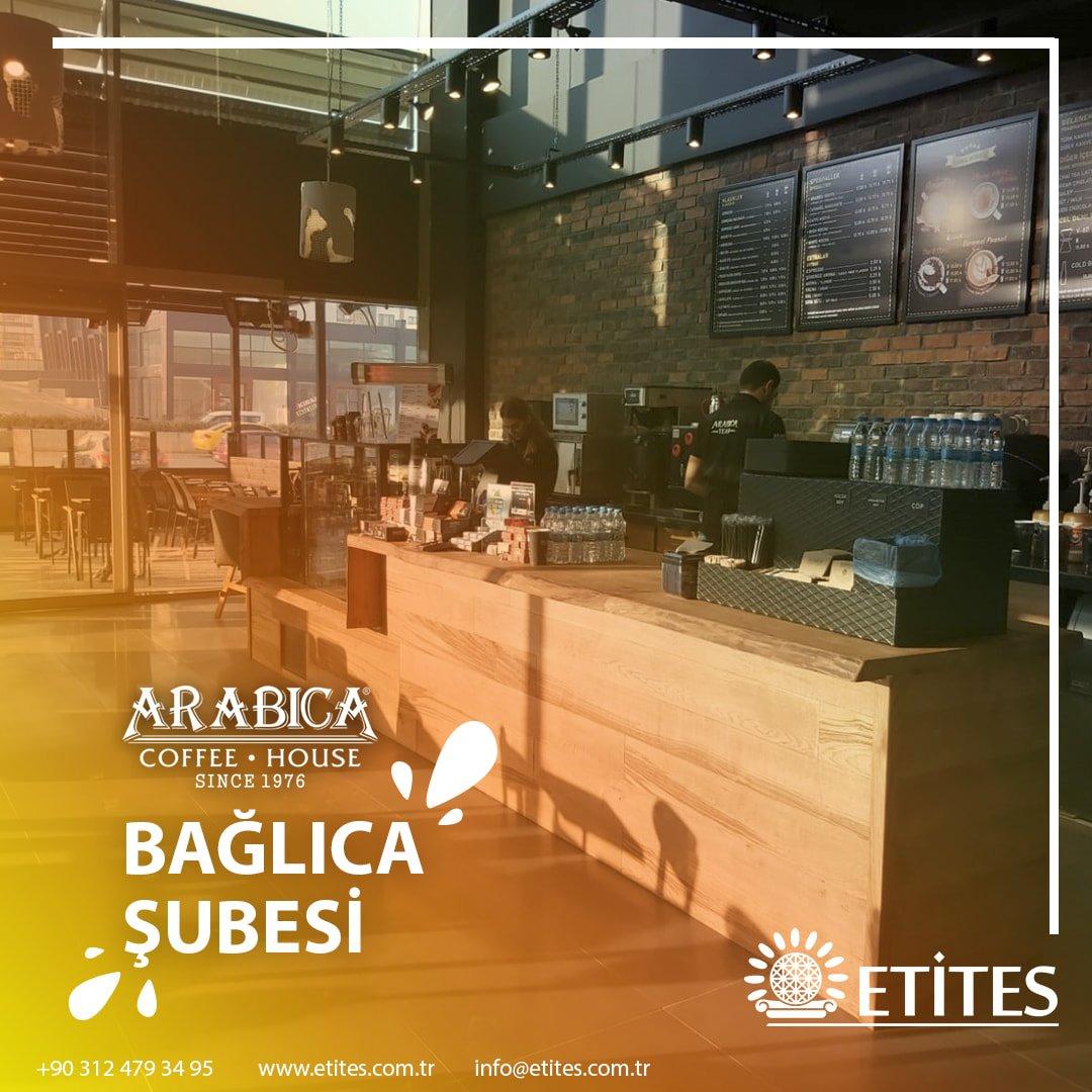 Ankara Bağlıca Arabica Coffee Mekanik Tesisat Projesi Tamamlandı