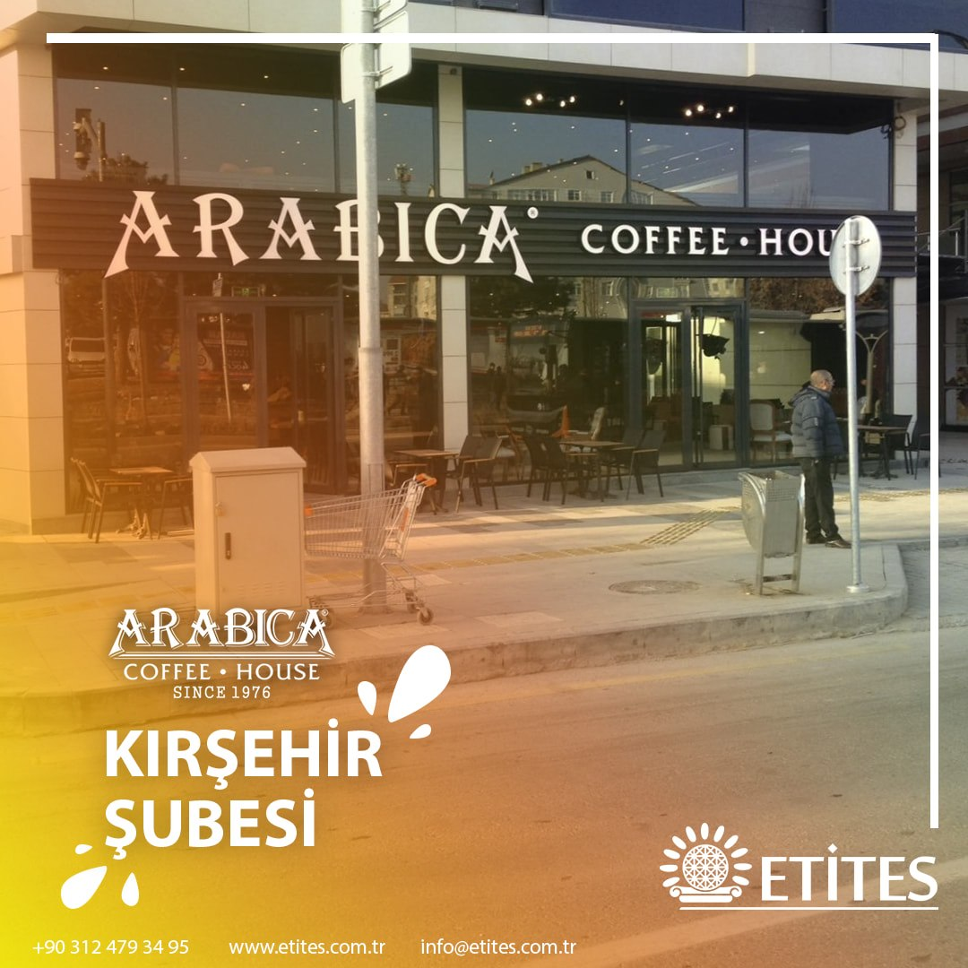 Kırşehir Arabica Coffee Mekanik Tesisat Projesine Başladık