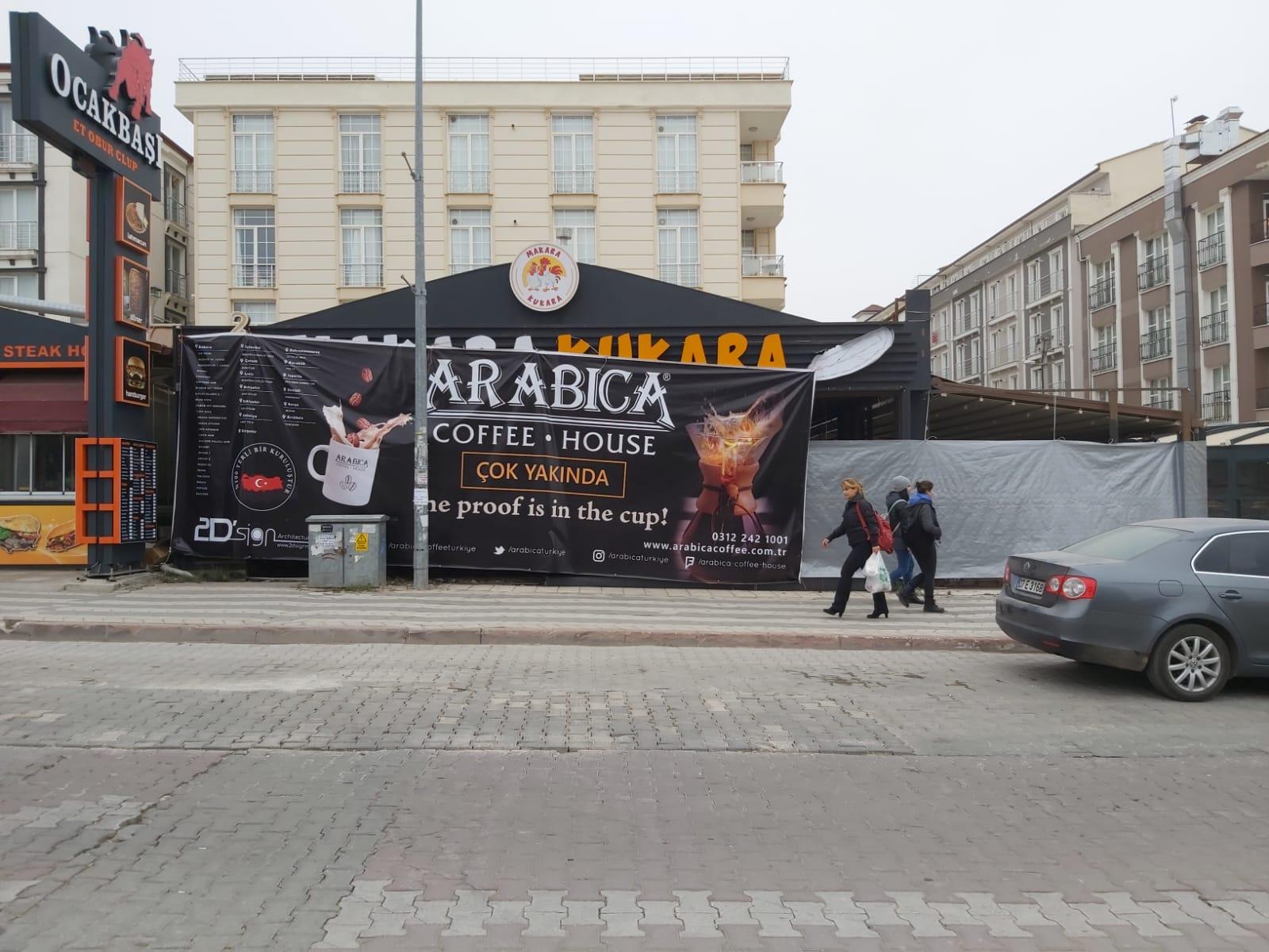 Kırıkkale Arabica Coffee Mekanik Tesisat Projesine Başladık