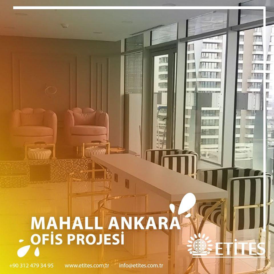 Mahall Ankara'da 102 Numaralı Ofis Projesinin Mekanik Tesisat Projesi Tamamlandı
