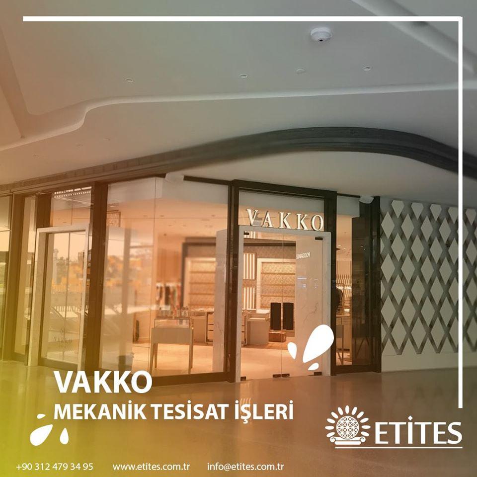 Ankara'da Vakko'nun 2000 m²'lik Mağazasının Mekanik Tesisat Projesi Tamamlandı