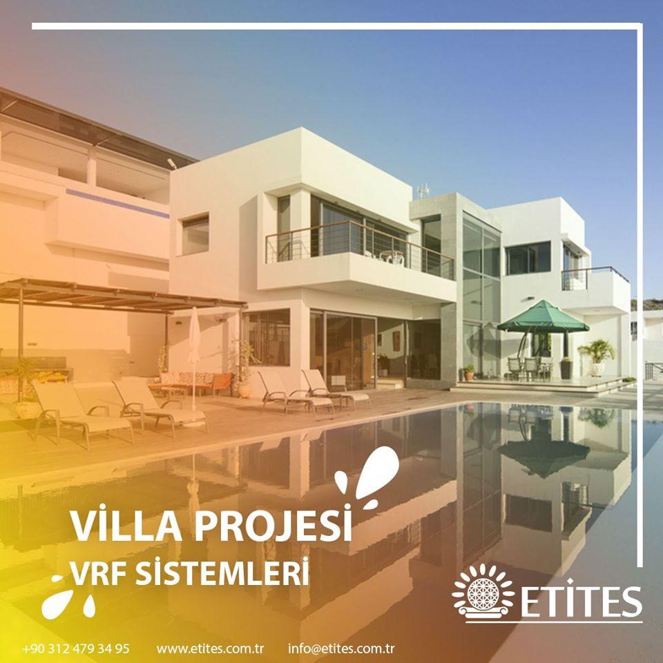 Villa Projesinin VRF Sistemleri Tamamlandı