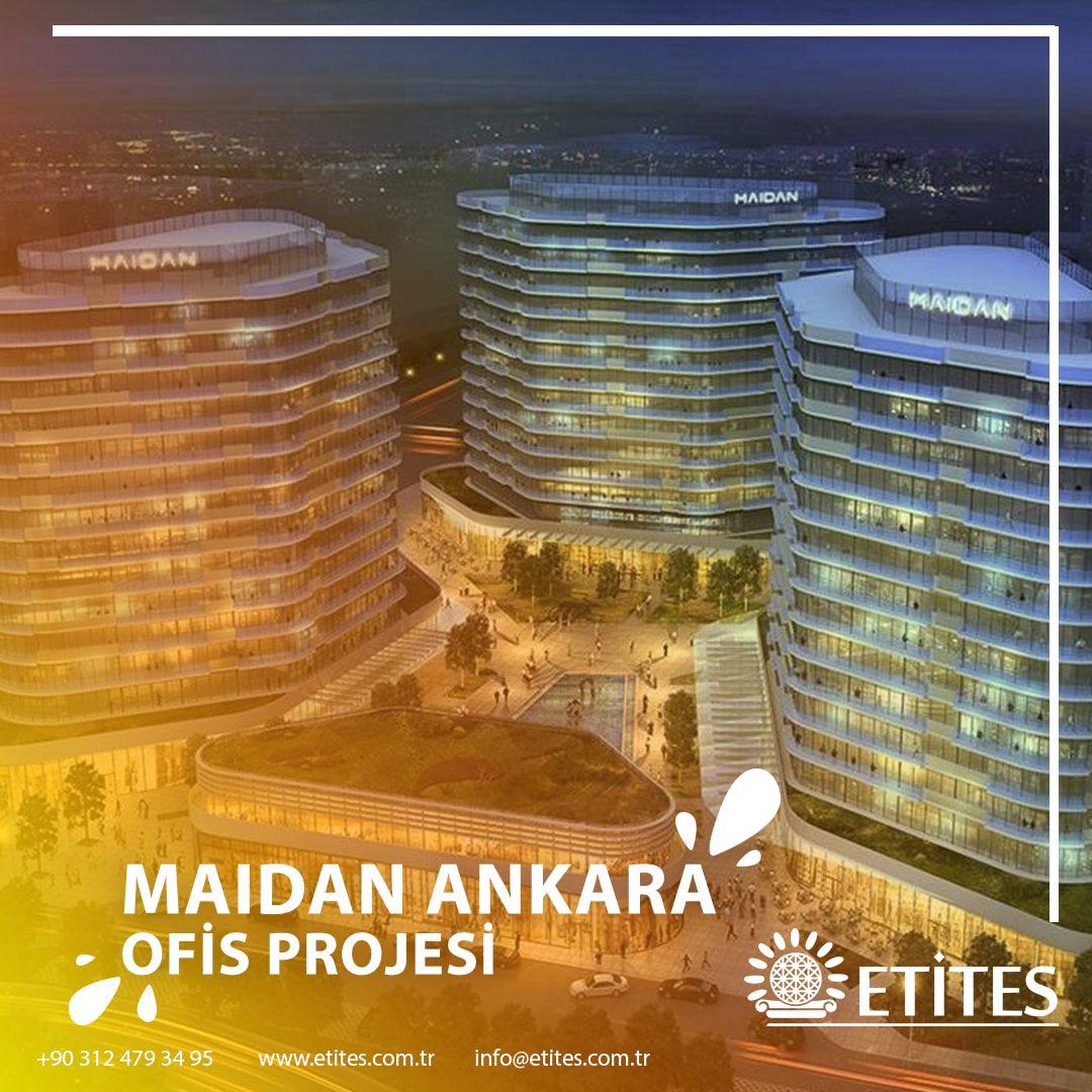 Maidan Ankara'da Ofisin Mekanik Tesisat Projesine Başladık
