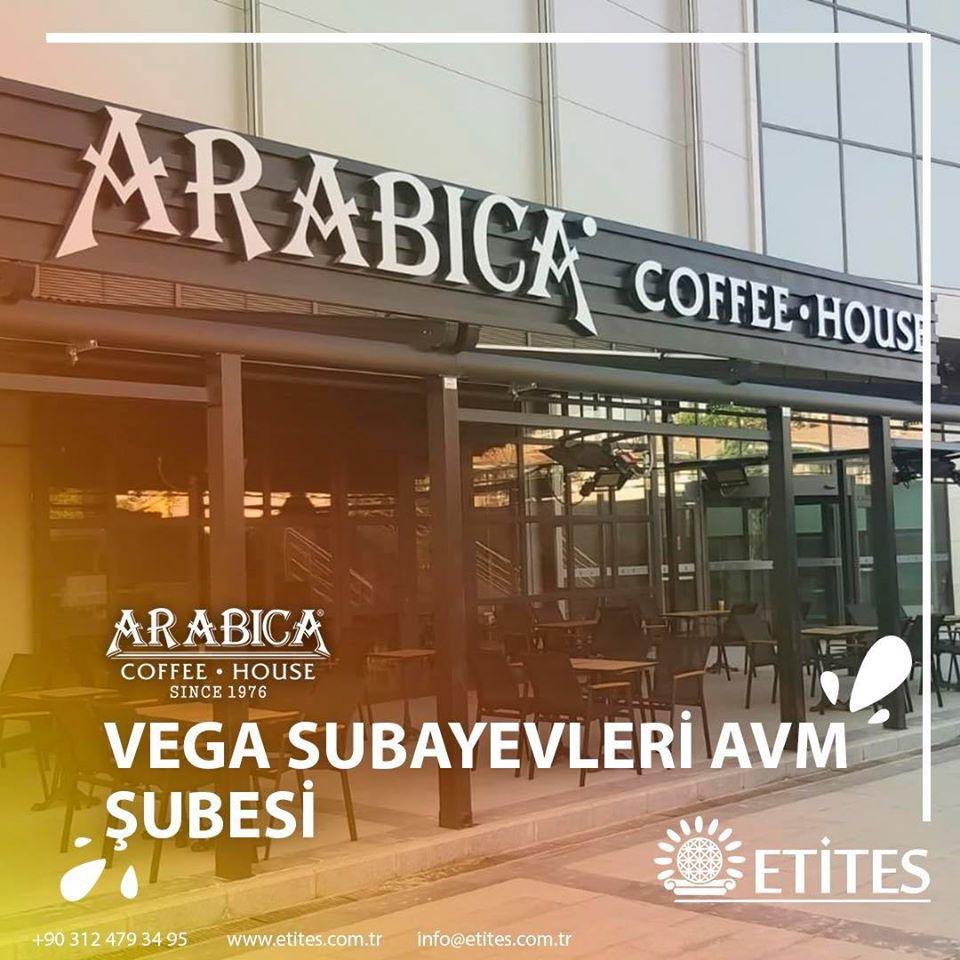 Vega Subayevleri Avm'de Arabica Coffee Mekanik Tesisat Projesini Tamamladık