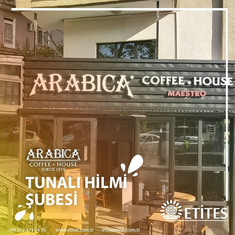 Tunalı Hilmi Arabica Coffee Şubesinin Mekanik Tesisat Projesi Tamamlandı