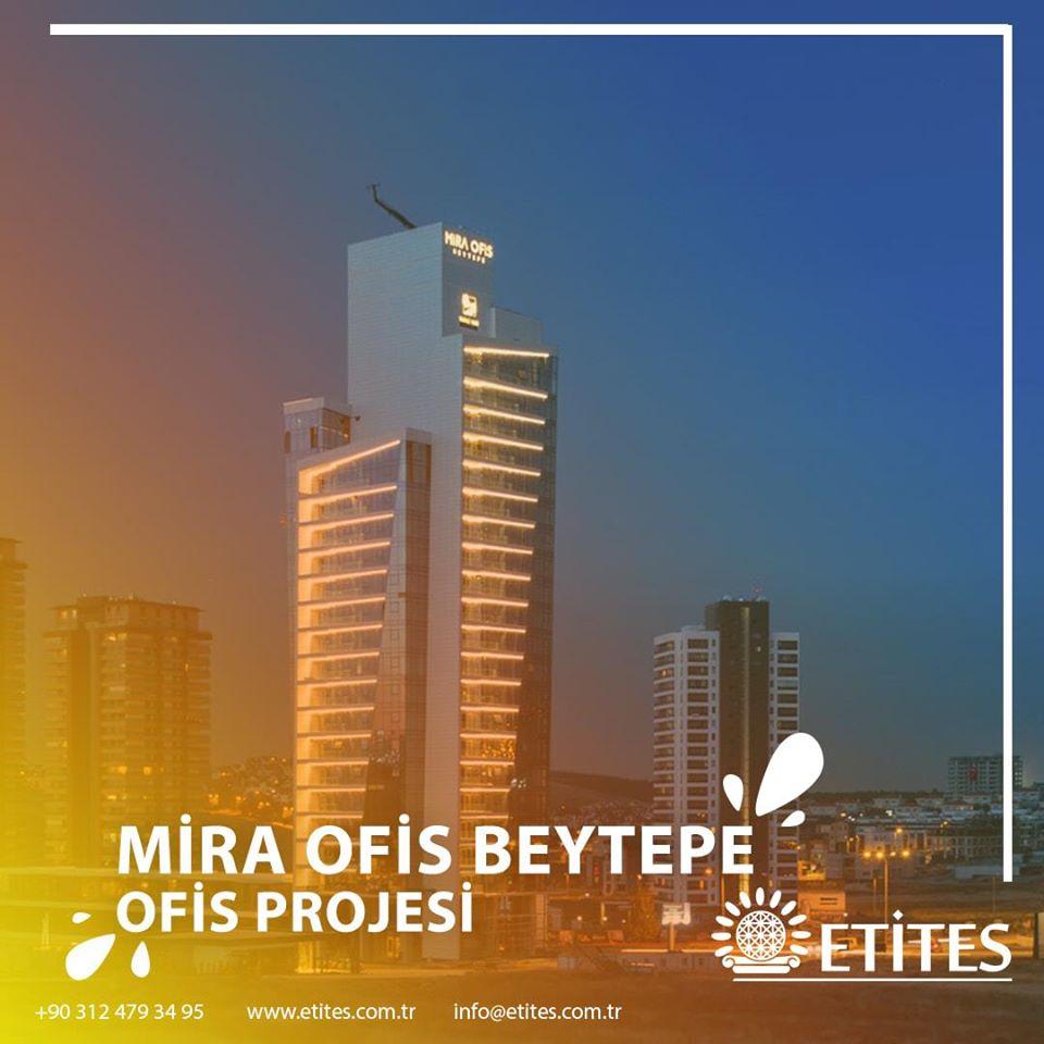 Mira Ofis Beytepe'de Mekanik Tesisat Projesine Başladık