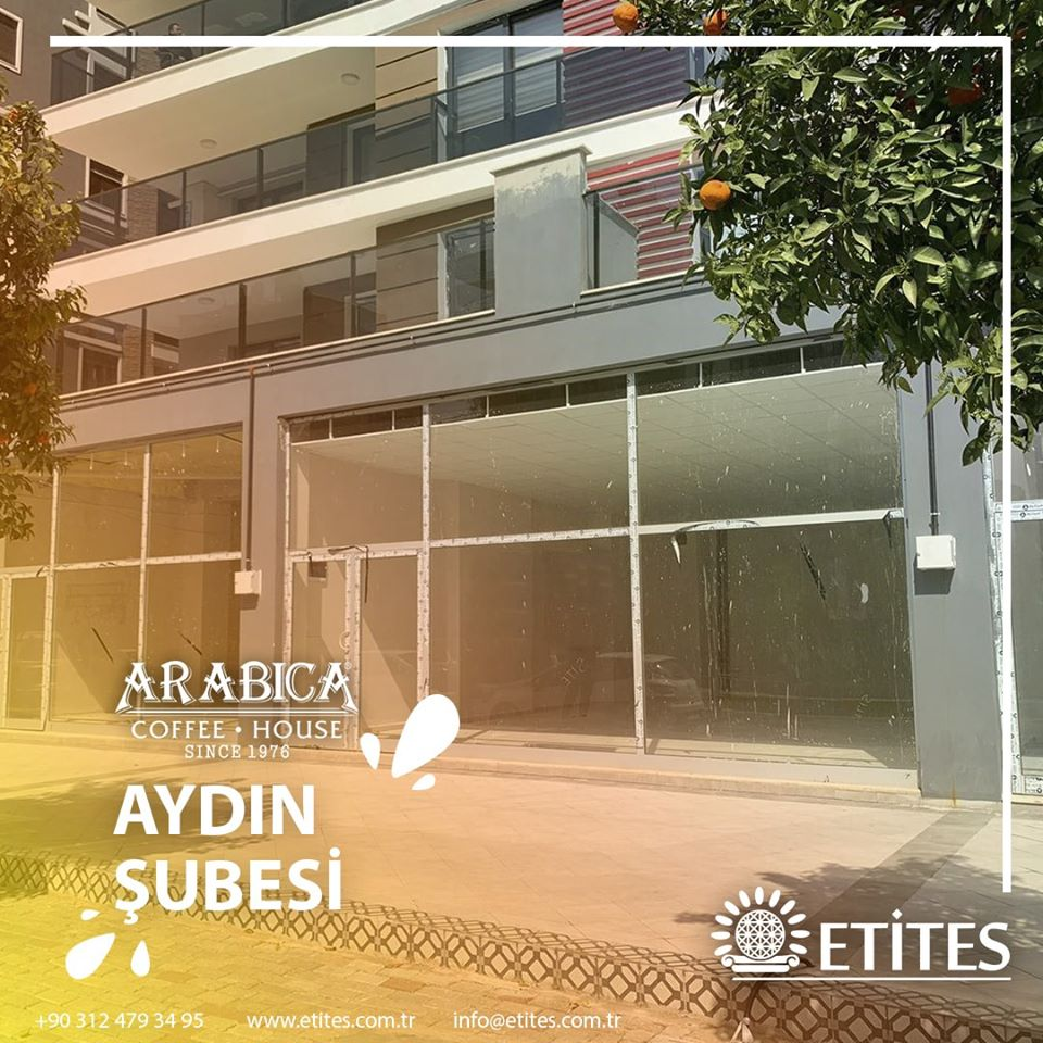 Aydın Arabica Coffee Mekanik Tesisat Projesine Başladık