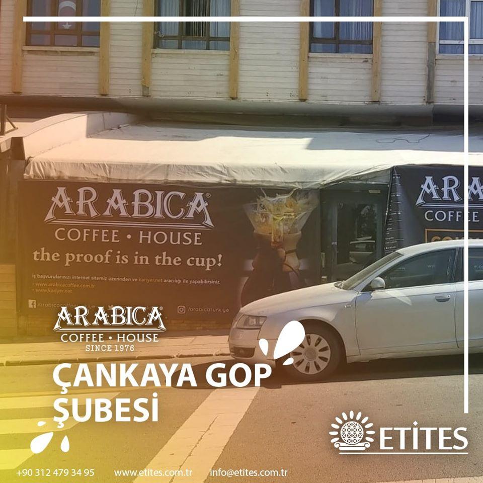 Çankaya Gaziosmanpaşa Arabica Coffee Mekanik Tesisat Projesine Başladık