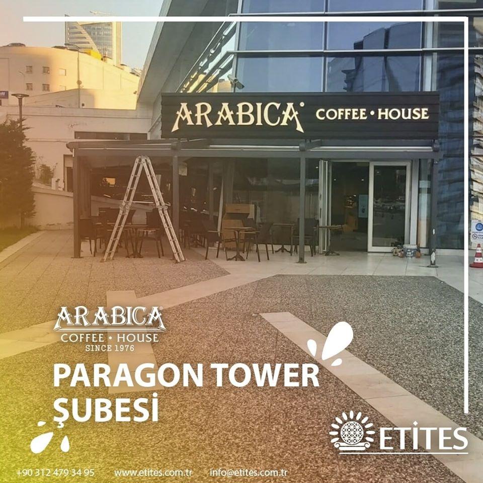 Paragon Tower Arabica Coffee Mekanik Tesisat Projesi Tamamlandı