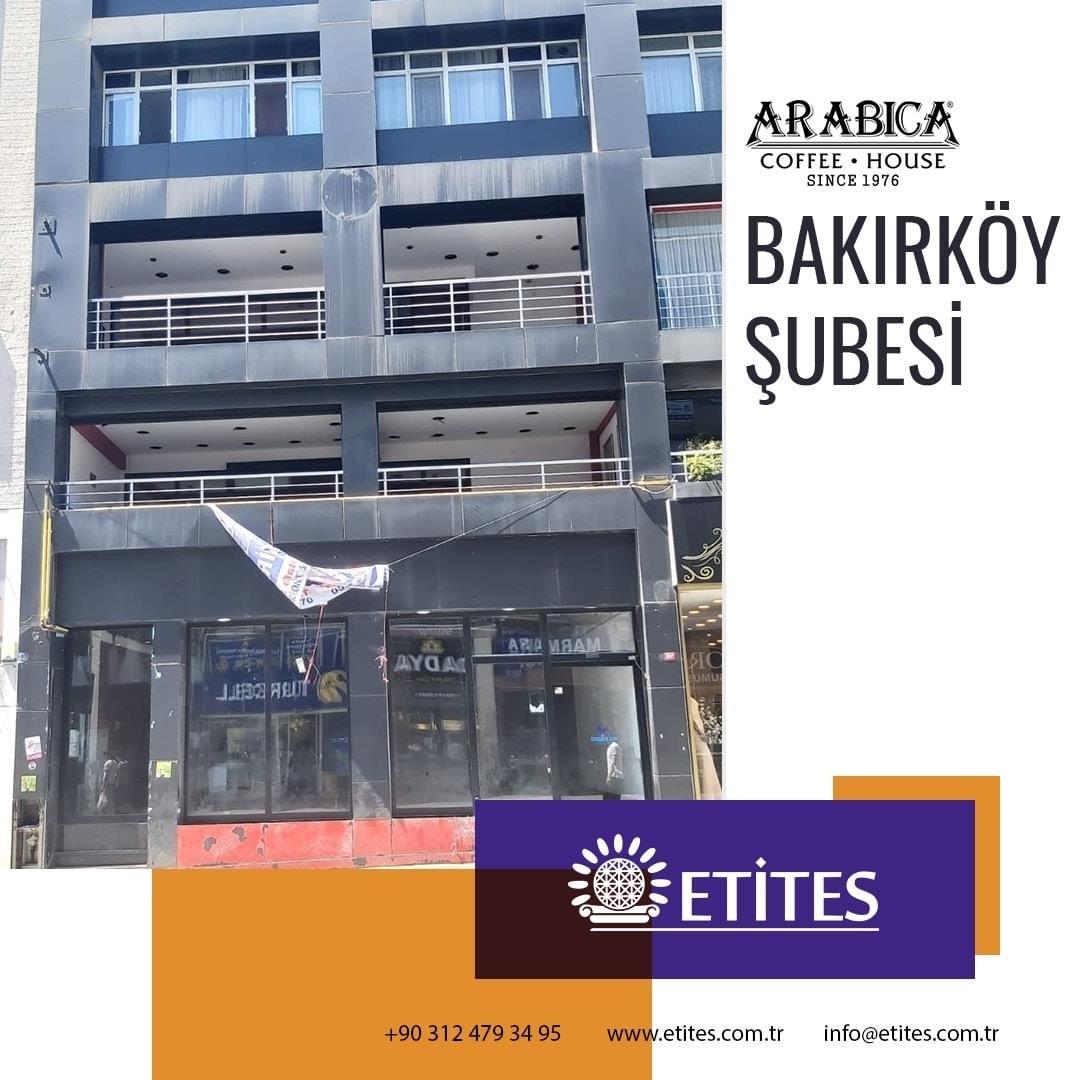 Arabica Coffee İstanbul Bakırköy Şubesi Projesi