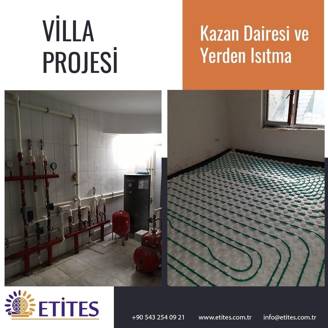 Villa Yerden Isıtma Projesi