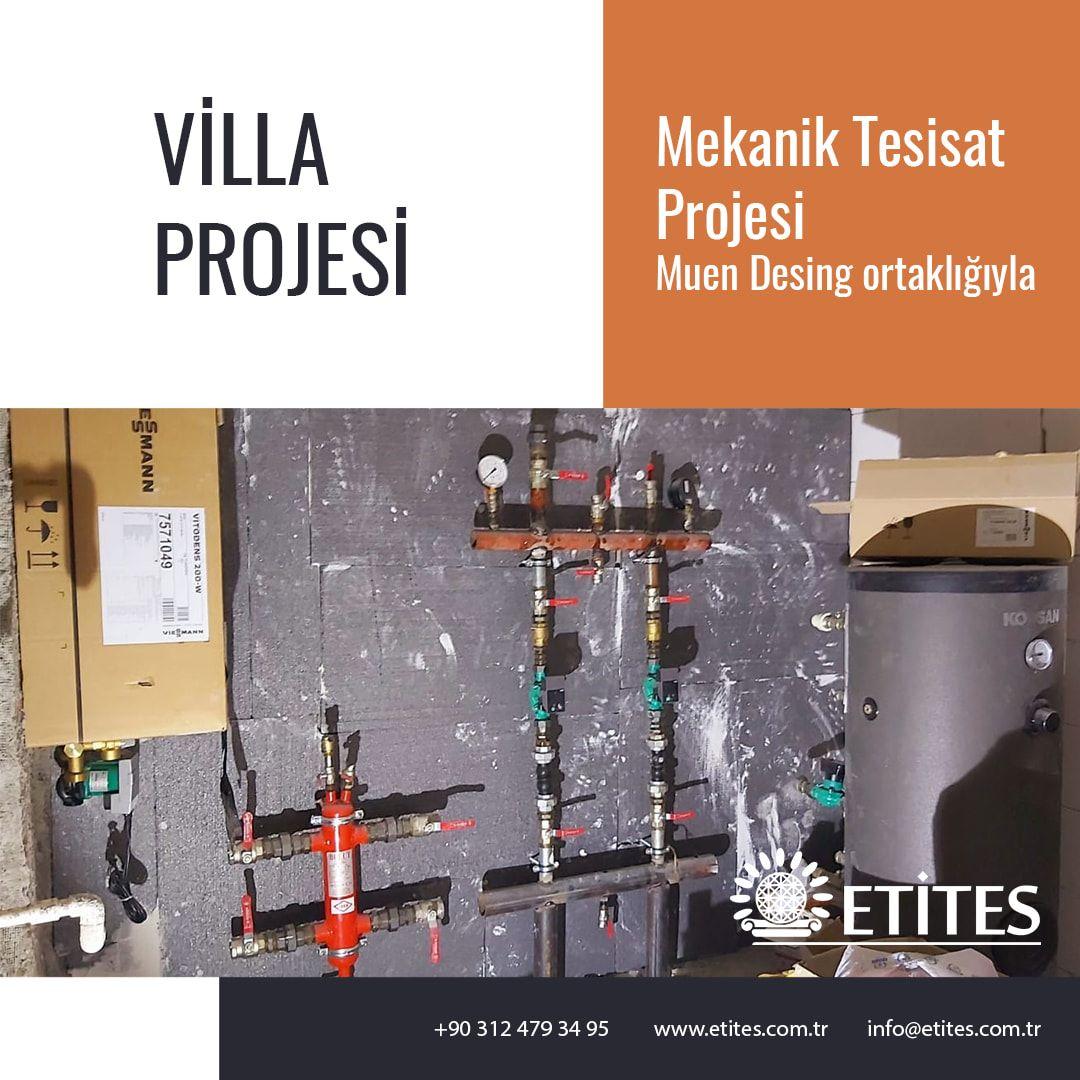 Villa Mekanik Tesisat Sistemi Projesi