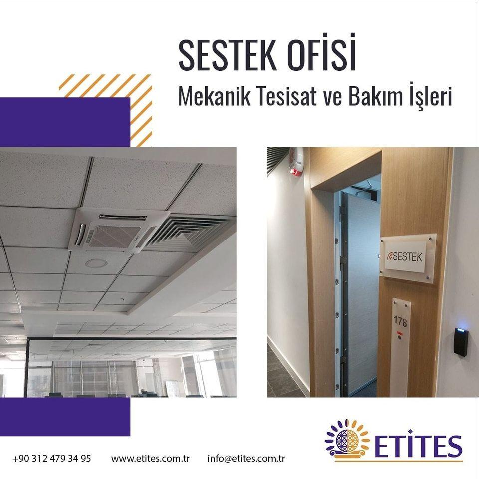 Mahall Ankara'da Sestek İçin Ofis Projesi