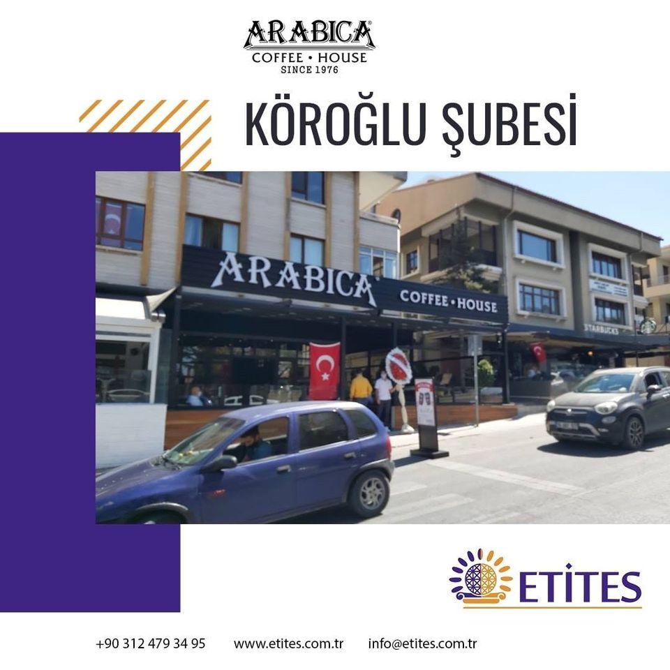 Arabica Coffee Köroğlu Şubesi Projesi