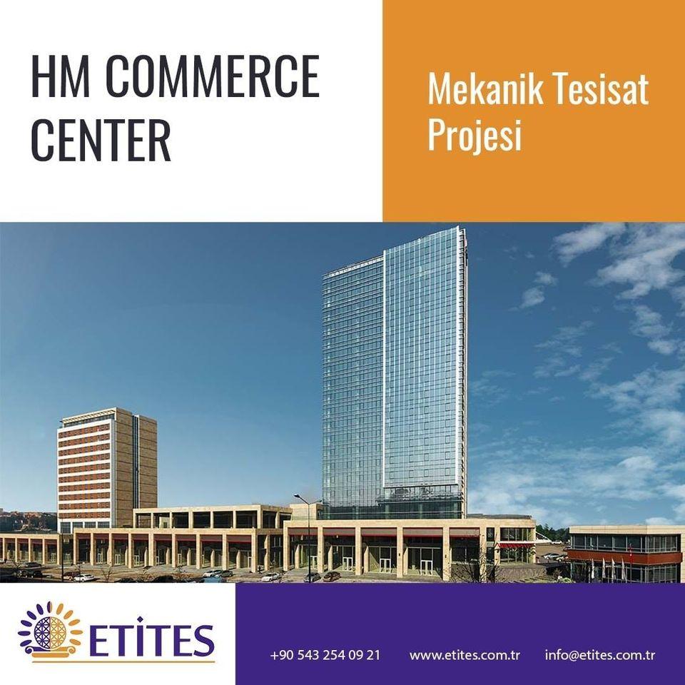 Ostim HM Commerce Center Dükkan Projesi