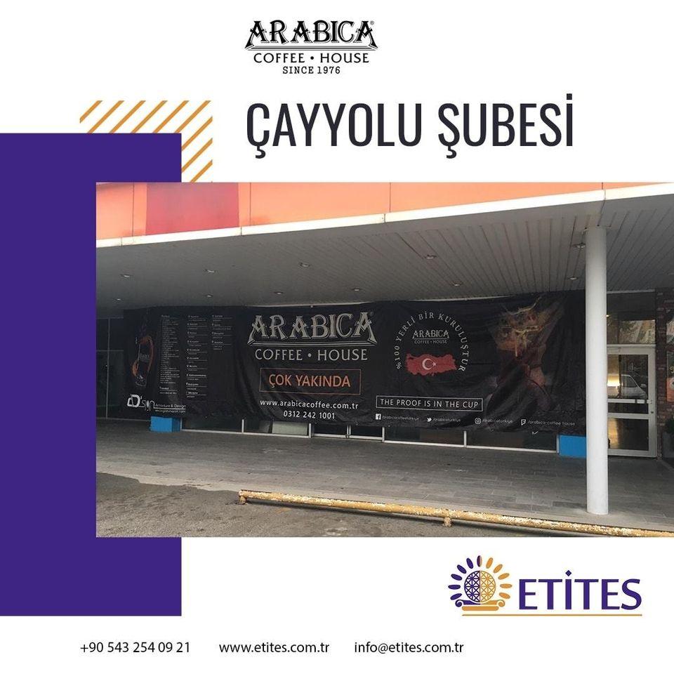 Arabica Coffee Çayyolu Şubesi Projesi