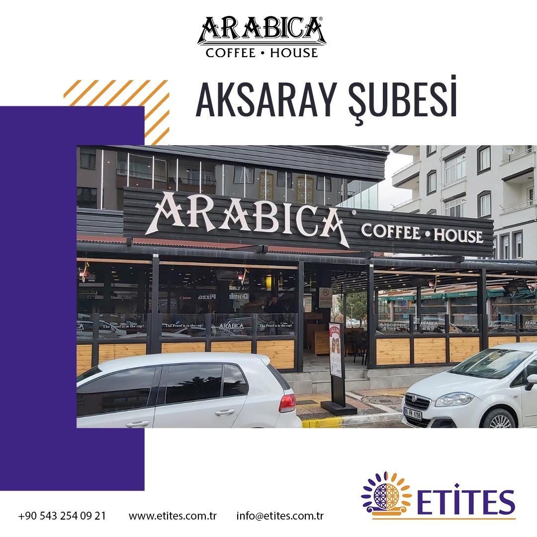 Arabica Coffee Aksaray Şubesi Projesi