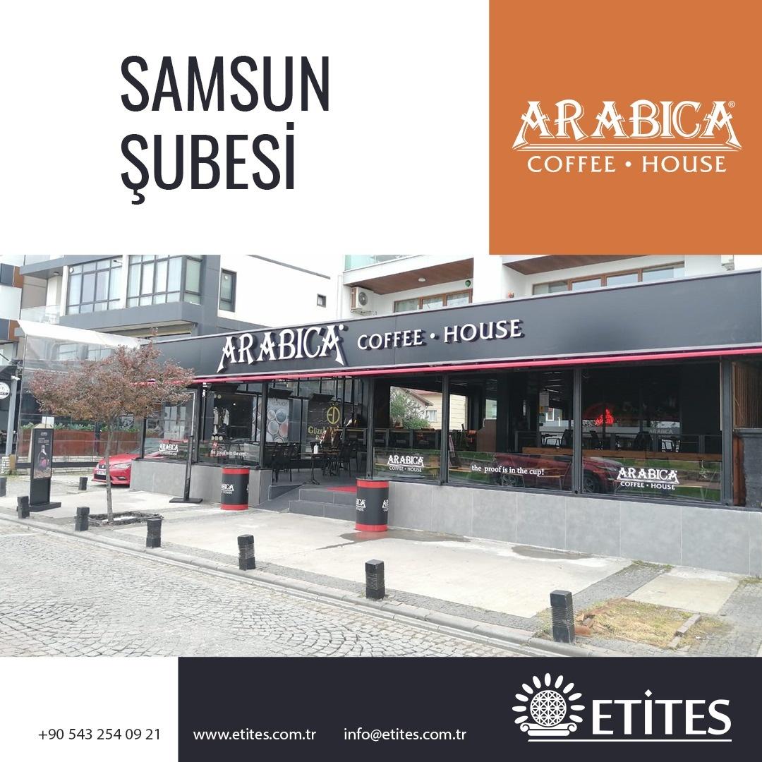 Arabica Coffee Samsun Şubesi Projesi