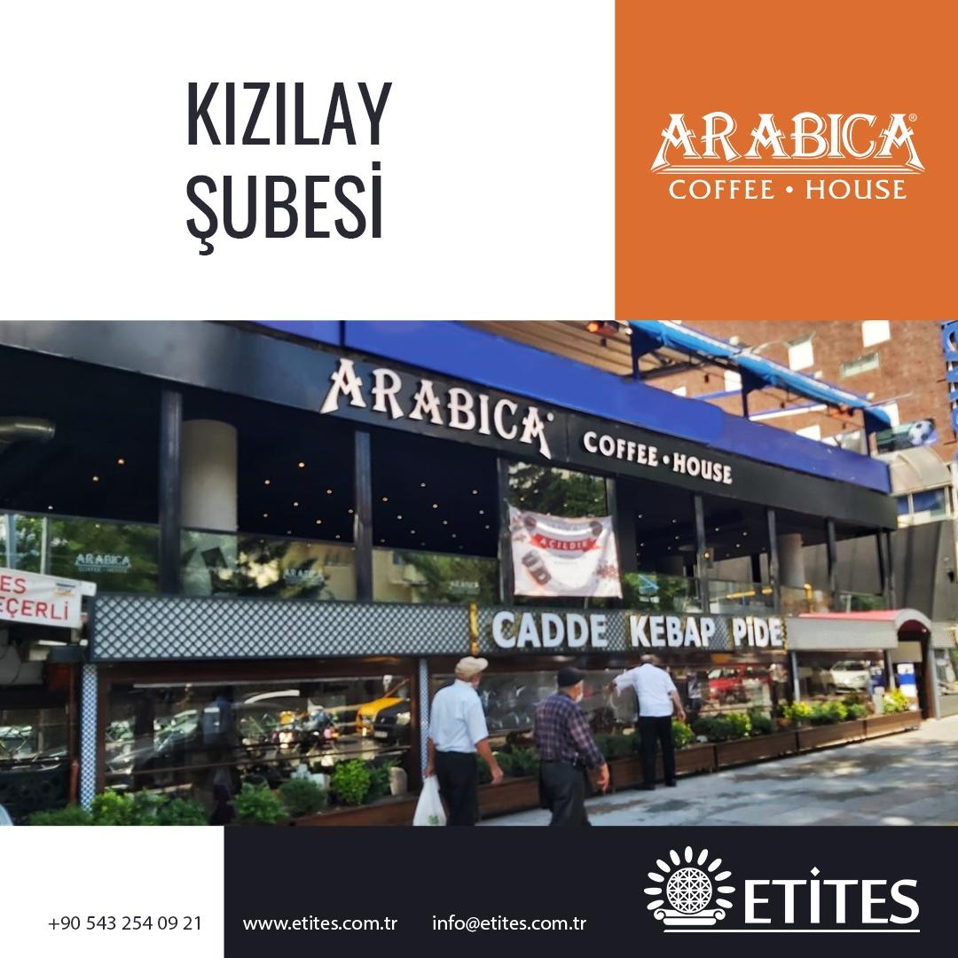 Arabica Coffee Kızılay Şubesi Projesi