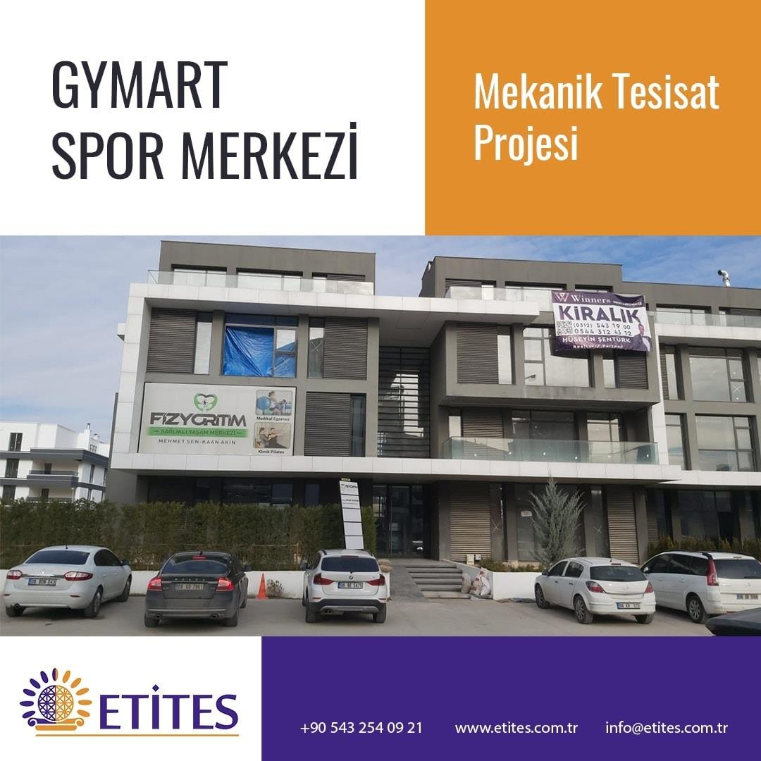 Gym Art Spor Merkezi Projesi