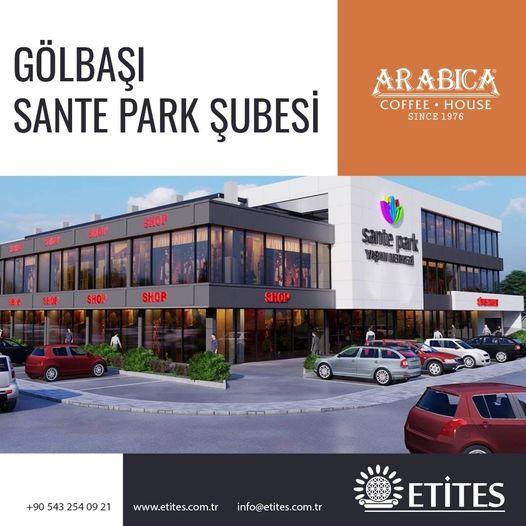 Arabica Coffee Sante Park Şubesi Projesi