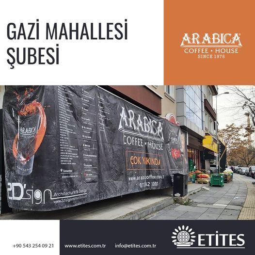 Arabica Coffee Gazi Mahallesi Şubesi Projesi