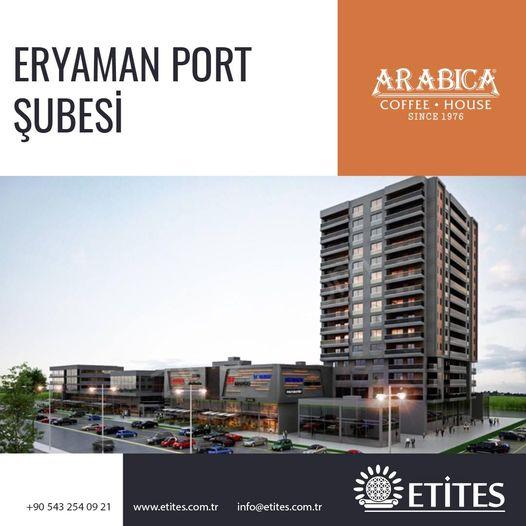 Arabica Coffee Eryaman Port Şubesi Projesi