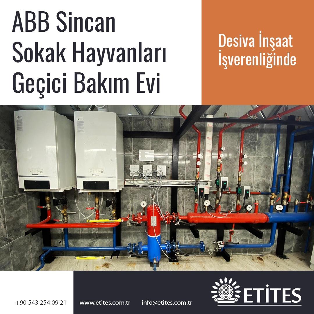 Ankara Büyükşehir Belediyesi Sincan Sokak Hayvanları Geçici Bakım Evi Projesi