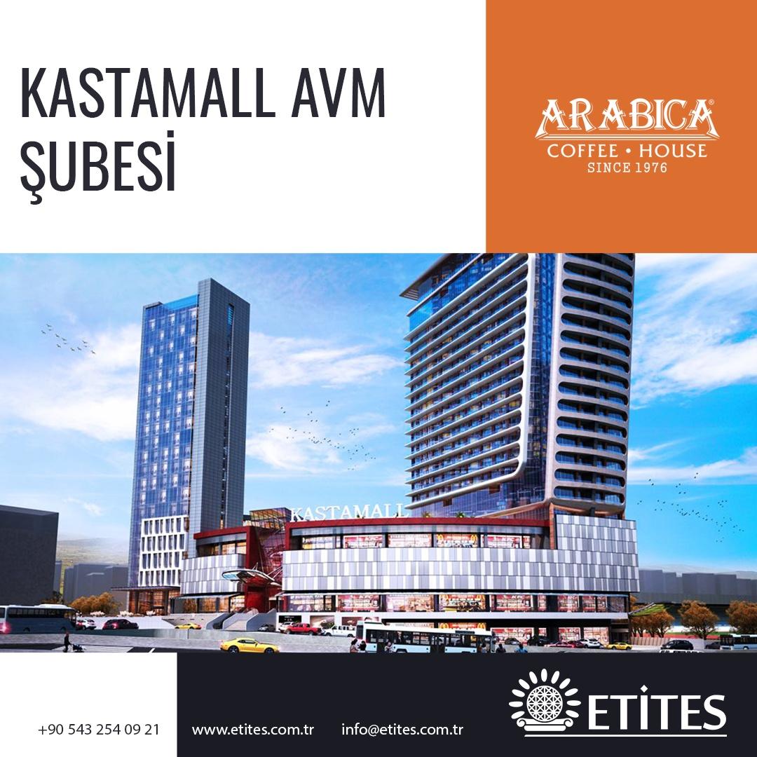 Arabica Coffee Kastamall Avm Şubesi Projesi