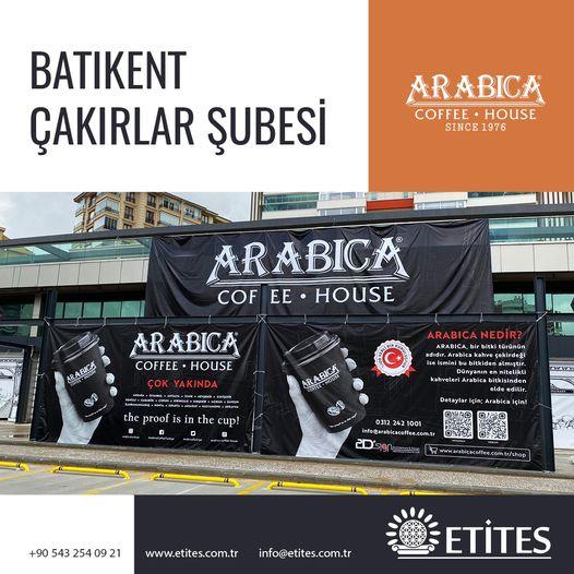 Arabica Coffee Batıkent Çakırlar Şubesi Projesi