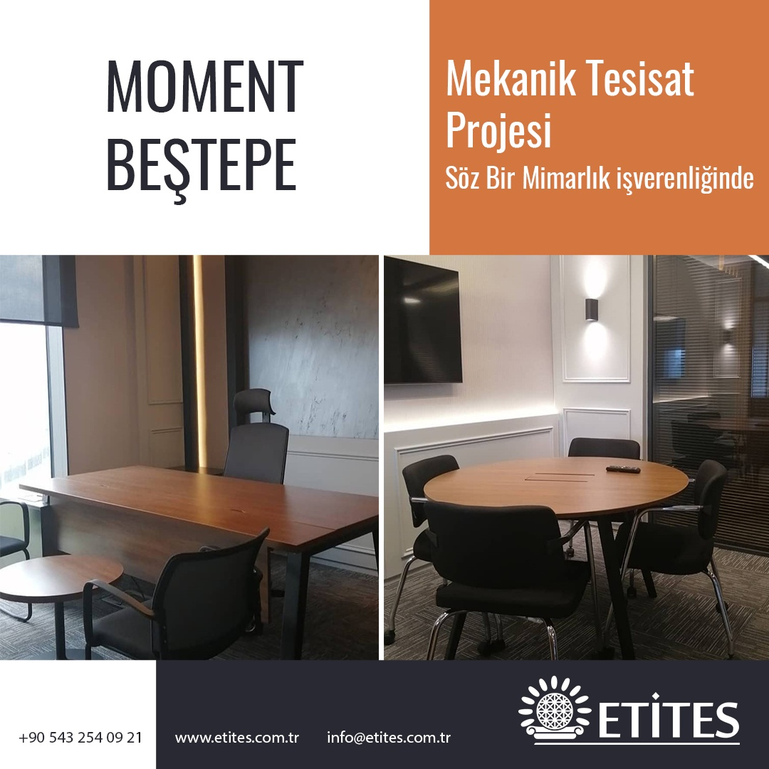 Moment Beştepe Ofis Projesi