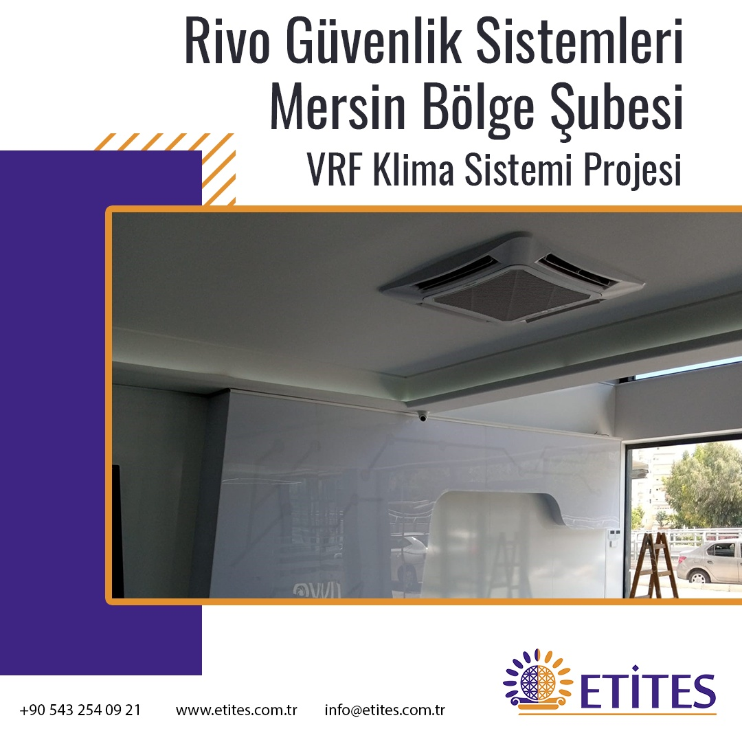 Rivo Güvenlik Sistemleri Mersin Bölge Şubesi Projesi