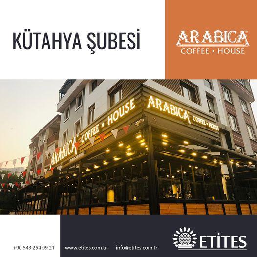 Arabica Coffee Kütahya Şubesi Projesi