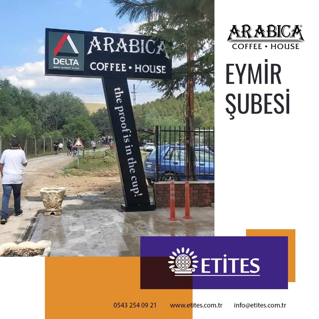 Arabica Coffee Eymir Gölü Şubesi Projesi