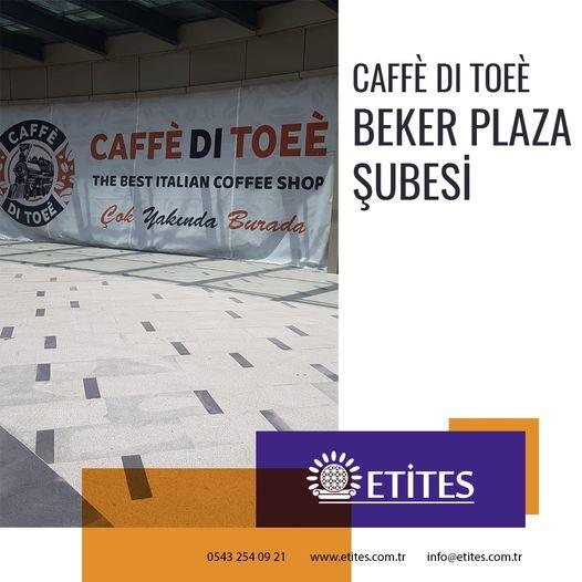 Caffè Di Toeè Beker Plaza Şubesi Projesi