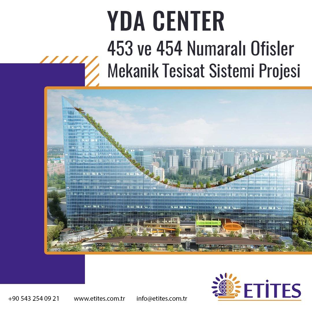YDA Center No: 453 ve 454 Ofis Projesi