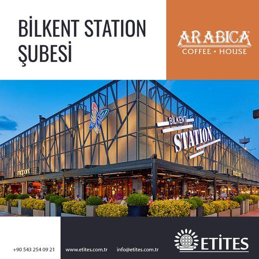 Arabica Coffee Bilkent Station Şubesi Projesi